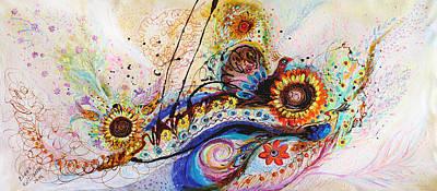 Splash Of Life #12 Poster by Elena Kotliarker