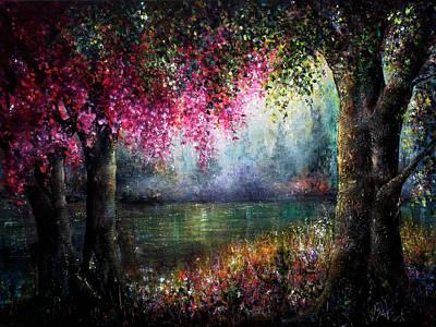 Splendour Poster by Ann Marie Bone
