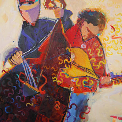 Spoonshine Duo Poster by Anne Schreivogl