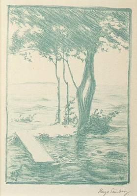 Spring Flood Poster by Hugo Simberg