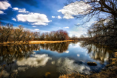 Spring Reflection - Wisconsin Landscape Poster by Jennifer Rondinelli Reilly - Fine Art Photography