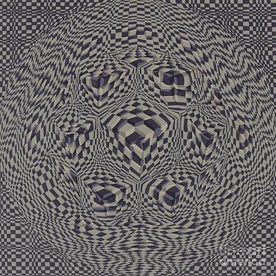 Square Transformation #3 Poster by Doreen Mason