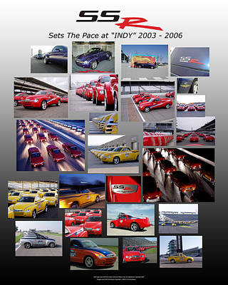 Ssr Sets The Pace 2003-2006 Poster by Howard Kirchenbauer