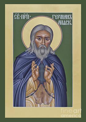 St. Herman Of Alaska  - Rlala Poster by Br Robert Lentz OFM