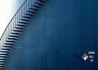 Staircase On The Side Poster by Todd Klassy