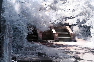 Stairway To Heaven Poster by Helga Novelli