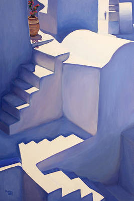 Stairways Poster by Patrick Parker