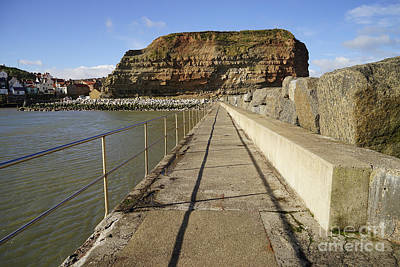Staithes Poster by Nichola Denny