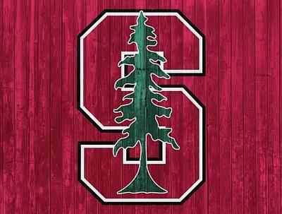 Stanford Barn Door Poster by Dan Sproul