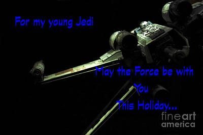 Star Wars Birthday Card 7 Poster by Micah May