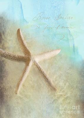 Starfish Poster by Betty LaRue