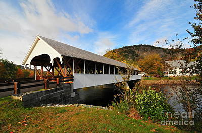Stark Covered Bridge  Poster by Catherine Reusch  Daley