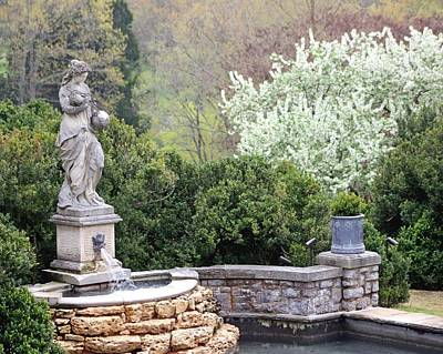 Statue At Cheekwood Poster by Gayle Miller