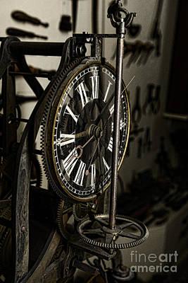 Steampunk - Timekeeper Poster by Paul Ward