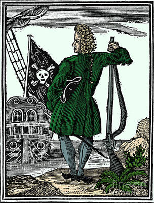 Stede Bonnet, English Pirate Poster by Science Source