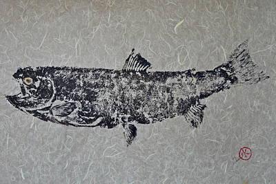 Steelhead Salmon - Smoked Salmon Poster by Jeffrey Canha