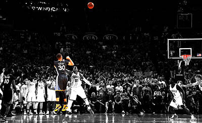 Steph Curry Its Good Poster by Brian Reaves