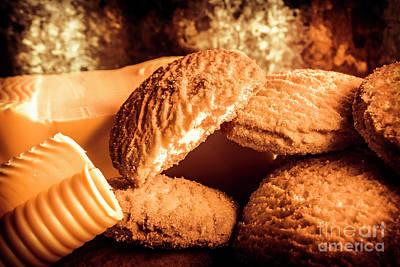 Still Life Bakery Art. Shortbread Cookies Poster by Jorgo Photography - Wall Art Gallery
