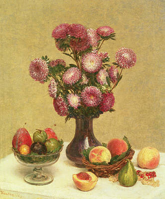 Still Life Poster by Theodore Fantin-Latour