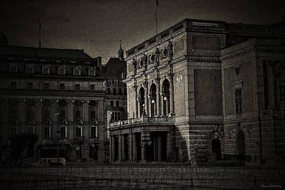 The Royal Swedish Opera Poster by Ramon Martinez