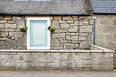 Stone Cottage Poster by Tom Gowanlock