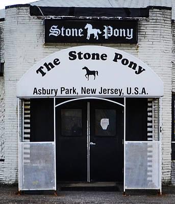 Stone Pony - Asbury Park Nj Poster by Bill Cannon