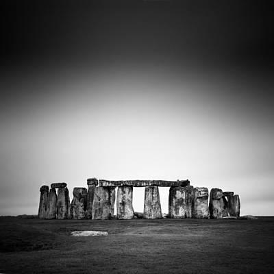 Stonehenge Poster by Nina Papiorek