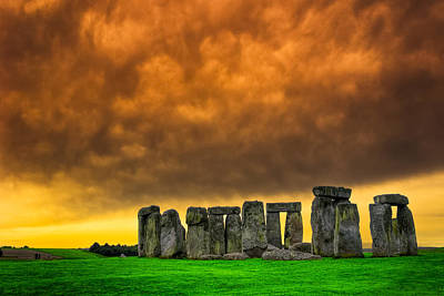 Stonehenge Standing Proud On The Salisbury Plains Poster by Mark E Tisdale