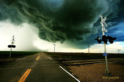 Storm Crossing Poster by Brian Gustafson
