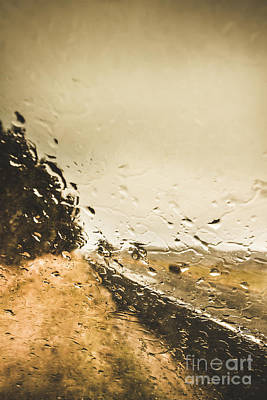 Storming Highway Poster by Jorgo Photography - Wall Art Gallery