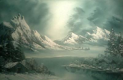 Stormy Winter Poster by John Koehler
