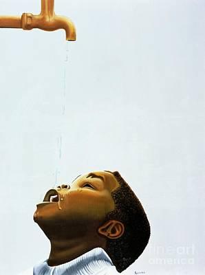 Streams In The Desert Poster by Kaaria Mucherera