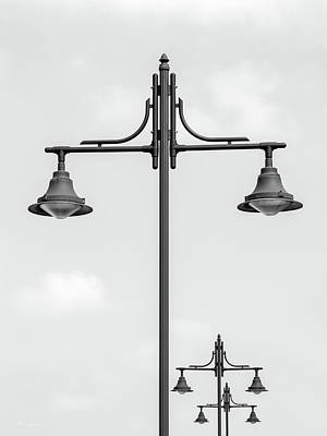Street Lights Poster by Wim Lanclus