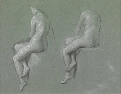 Studies Of The Nude Poster by Sir Edward John Poynter