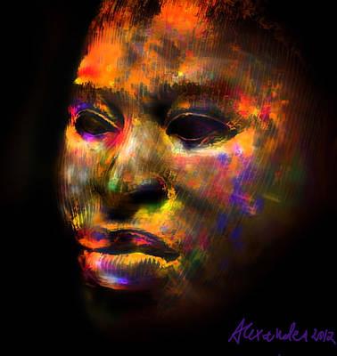 Stunning African Mask  Poster by Alexandra Jordankova