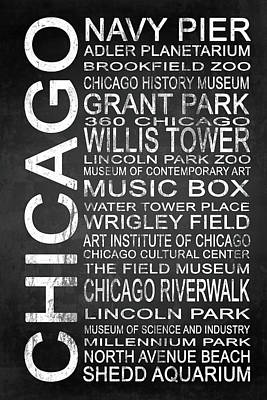 Subway Chicago 1 Poster by Melissa Smith