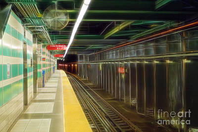 Subway Poster by Terry Weaver