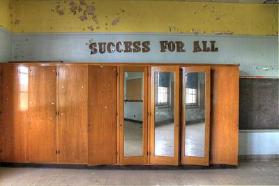 Success For All? Poster by Jane Linders