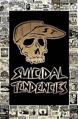 Suicidal Tendencies 2 Poster by Michael Bergman