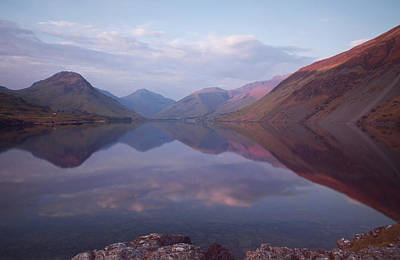 Summer At Wastwater In Cumbria Poster by Pete Hemington