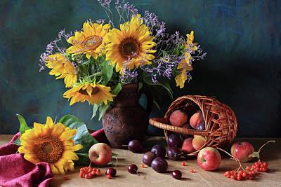 Summer Exuberance Poster by Panga Natalie Ukraine