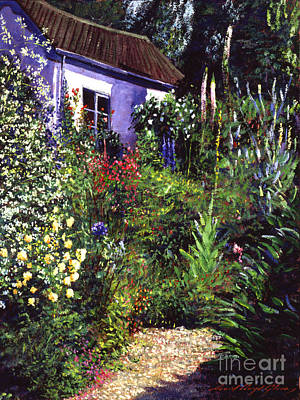 Summer Garden Poster by David Lloyd Glover