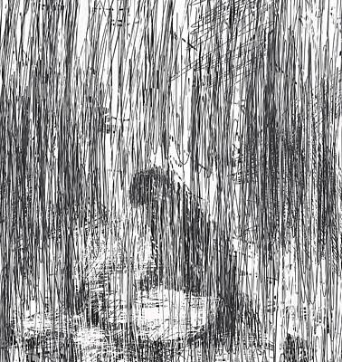 Summer Rain Poster by Rachel Christine Nowicki
