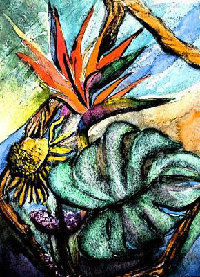 Sun Bird Poster by Mindy Newman