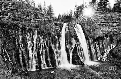 Sunburst Falls Poster by Jamie Pham