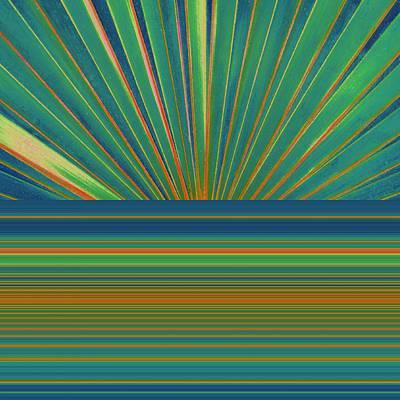 Sunburst Poster by Michelle Calkins