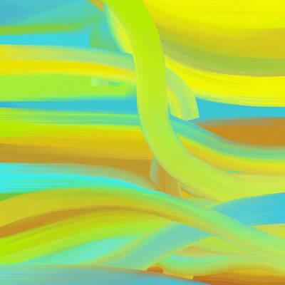 Sunny Dunes Poster by Frank Tschakert