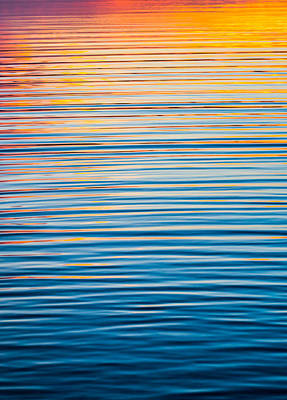 Sunrise Abstract  Poster by Parker Cunningham