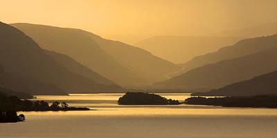 Sunrise At Loch Maree Poster by John McKinlay