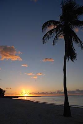 Sunrise In Key West 2 Poster by Susanne Van Hulst